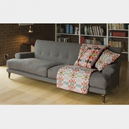 Oscar Sofa By Matthew Hilton. Nice Modern Lines With A Little Traditional  Twist