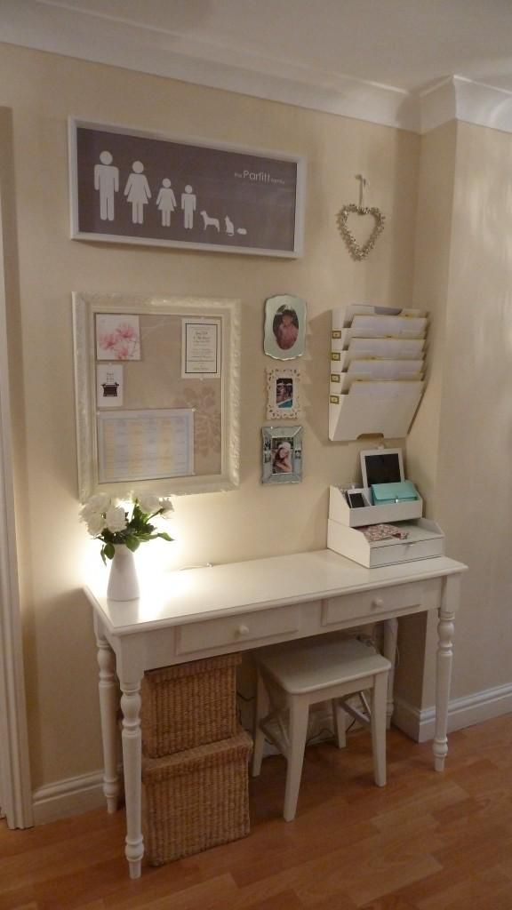 Turn your small desk into a command center with these organization hacks.