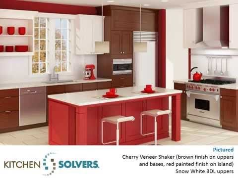 Kitchen Solvers Contemporary Kitchens - YouTube