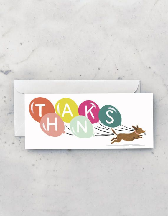Deze super snelle Doxie stuurt de vrolijkste nota van dank!  Onze langwerpige No. 9 kaarten zijn de perfecte maat voor tegoed in een wetsvoorstel of controleren als u dat wenst.  • Zware, matte eierschaal voorraad • Blanco binnenin • 3 3/4 x 8 3/4 • Gecombineerd met bijpassende envelop  Onze wenskaarten zijn gemaakt van hoogwaardig FSC-gerecycled papier, gedrukte lokaal & met de hand geassembleerd in onze studio.  * Internationale bestellingen geleverd eerste klasse met geen tra...