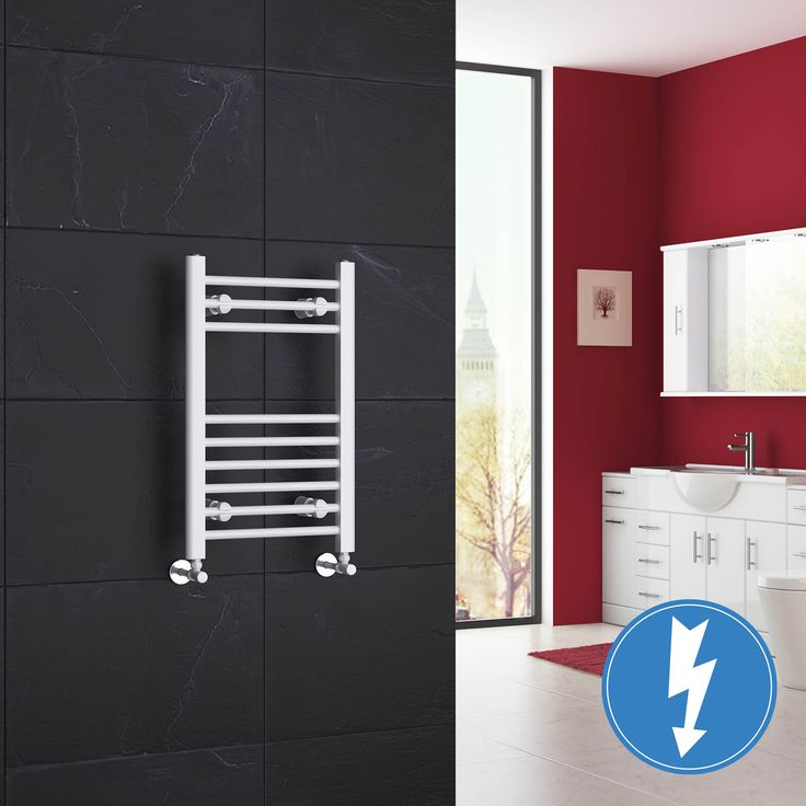 650x400mm Electric Straight Heated Towel Rail: 38 Best Images About Understairs Wc On Pinterest