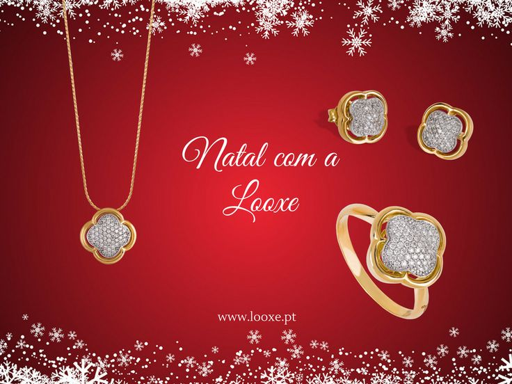 All I want for this Christmas is a Looxe jewels! // Tudo que eu quero para este Natal são jóias Looxe!  #looxe #looxejewelry #jewelry #prendas #prendasdenatal #prendasparaela #coleçãodenatal #ouro #anel #colar #brincos #christmascampaign #gifts #christmasgifts #giftsforher #christmascollection #gold #ring #necklace #earrings