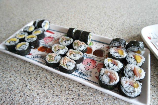 Zelf sushi maken is zo moeilijk nog niet!   My Little Happiness