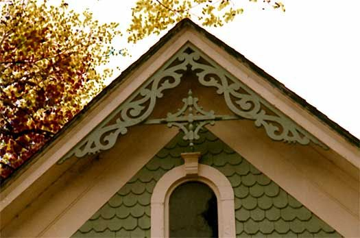 Victorian Gingerbread Gable Ornaments From Empire