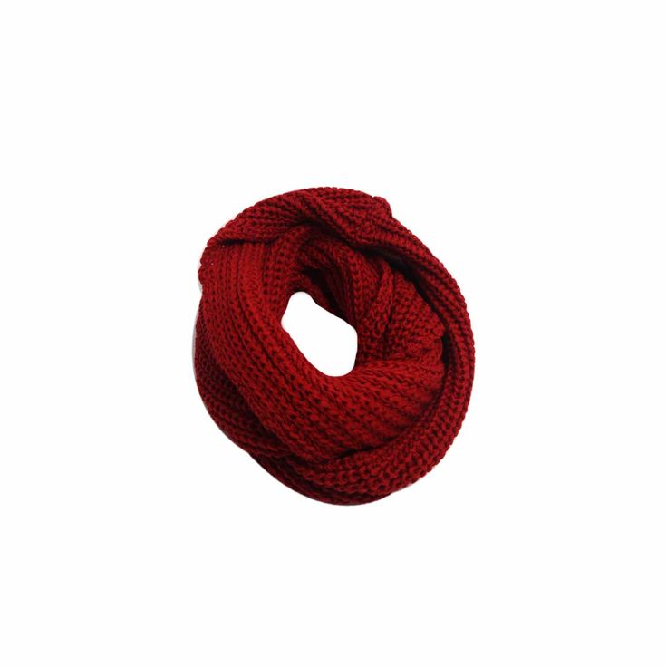 Cachecol Infinito Vermelho #Cachecol #Cachecóis #scarfs #scarf #fashion #modafeminina #moda