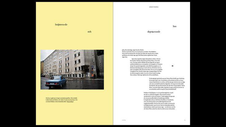 Hold Magazine layout by Fredrik Lien Bjørgmo
