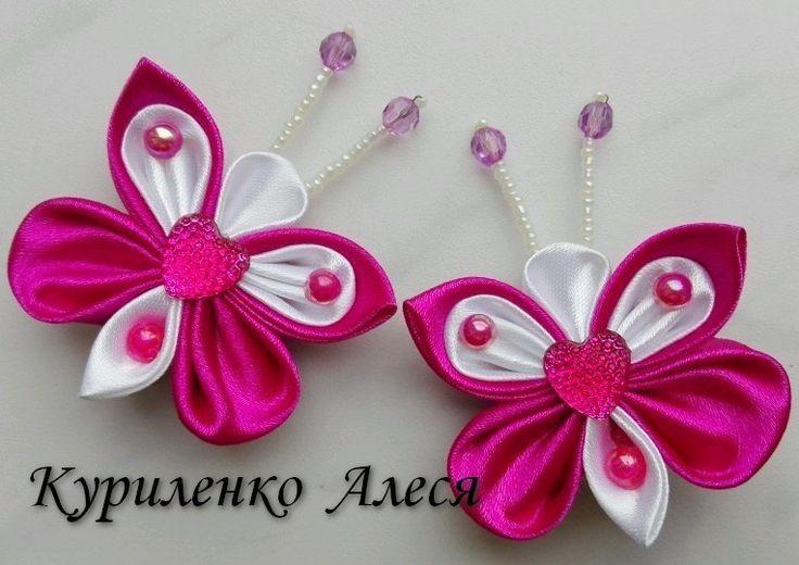 Cute little kanzashi butterflies