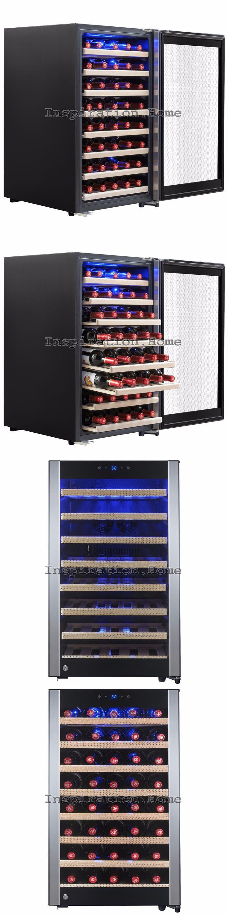 Wine Fridges and Cellars 177750: 52 Bottle Freestanding Single Zone Adjustable Electric Compressor Wine Cooler -> BUY IT NOW ONLY: $519.99 on eBay!