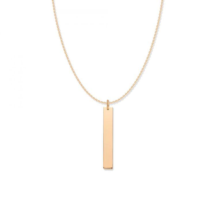 Naszyjnik Imiennik pozłacany na łańcuszku - Naszyjniki - Biżuteria - Sklep internetowy Lilou