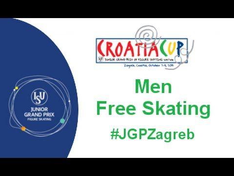 2015 ISU Junior Grand Prix - Zagreb Men Free Skate