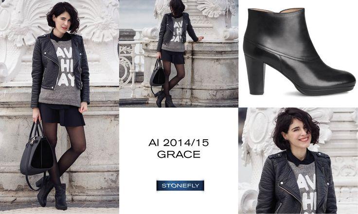 Grazie alla blogger di ¿Hablamos de Moda? per il suo ultimo post, in cui indossa gli stivaletti in pelle Grace. Se vi piace il suo look scopritelo qui! >> http://www.hablamosdemoda.es/mis-looks/donosti/#post #boots #ankleboots #stivaletti #blogger #fashionblogger >> http://www.stonefly.it/it/2/collezione/donna/320/103380-000-grace-7.html