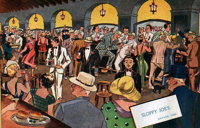 El Sloppy Joe's, uno de los bares más famosos de La Habana y refugio de turistas y estrellas del cine como Noël Coward, Frank Sinatra, John Wayne, Spencer Tracy o Clark Gable, volvió a abrir sus puertas en 2013, casi 50 años después de su cierre. El Sloppy Joe's fue fundado por el inmigrante gallego José García, quien aprovechó la era de la prohibición del alcohol en los Estados Unidos (1920-1933), que provocó que miles de turistas estadounidenses visitaran a La Habana para poder beber a sus…