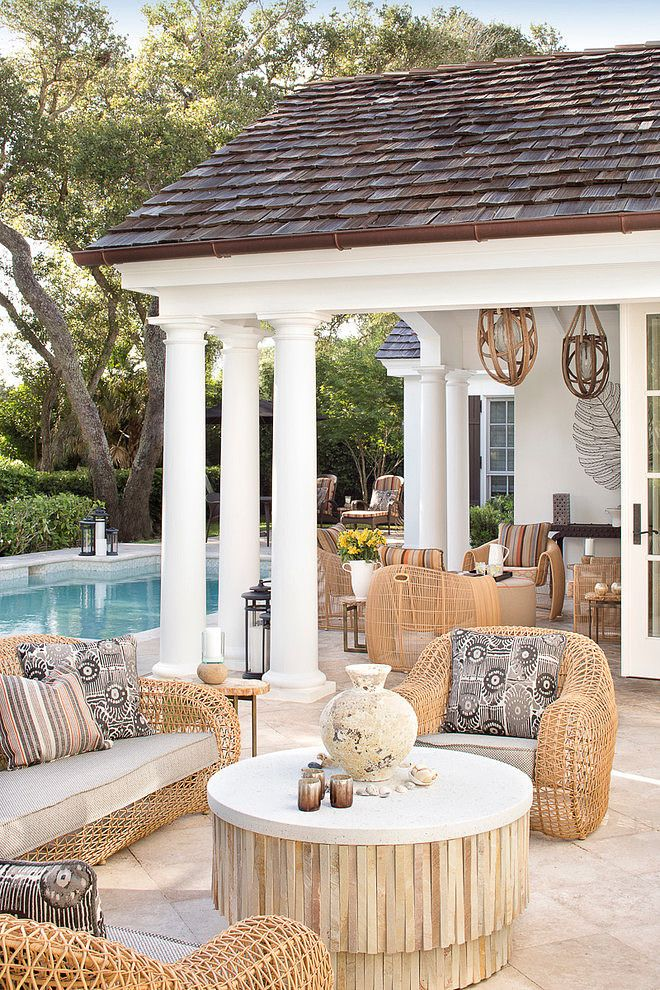 Outdoor entertaining area. Covered Al Fresco. Rattan outdoor lounge. Swimming pool. Friday's Favourites, Gallerie B