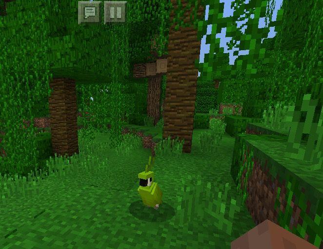 мыши джунглей майнкрафте #3