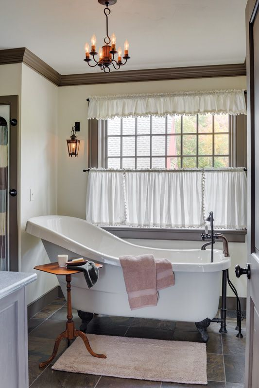 76 best family bathroom images on pinterest window for Colonial bathroom ideas