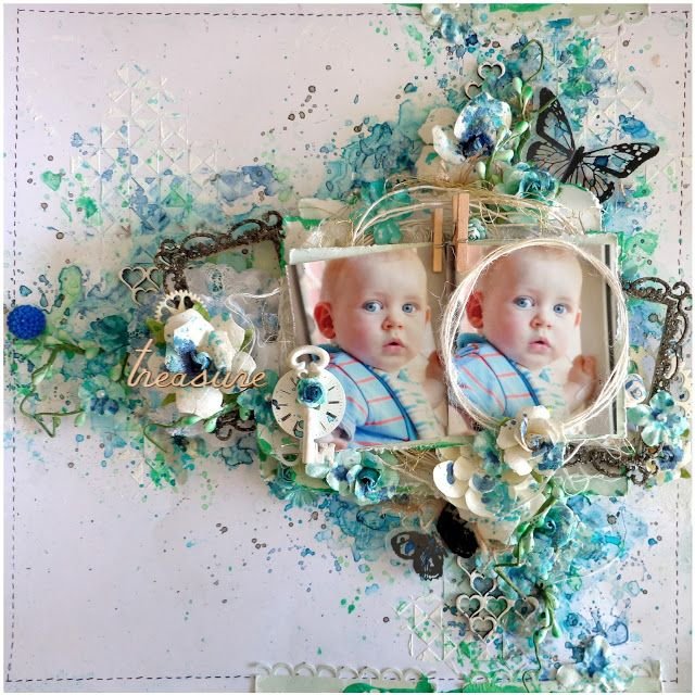 'Treasure' layout - With Video Tutorial - by Jacqueline Moore
