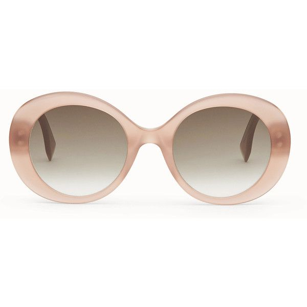 FENDI | Product detail | Fendi Online Store ❤ liked on Polyvore featuring accessories, eyewear, sunglasses, fendi, fendi sunglasses, brown glasses, fendi glasses and brown sunglasses