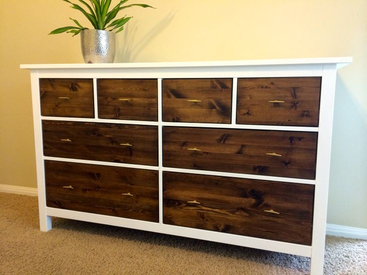 468 best images about dressers on pinterest vintage for Kommode hemnes ikea
