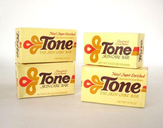 Tone Soap - vintage '80s packaging