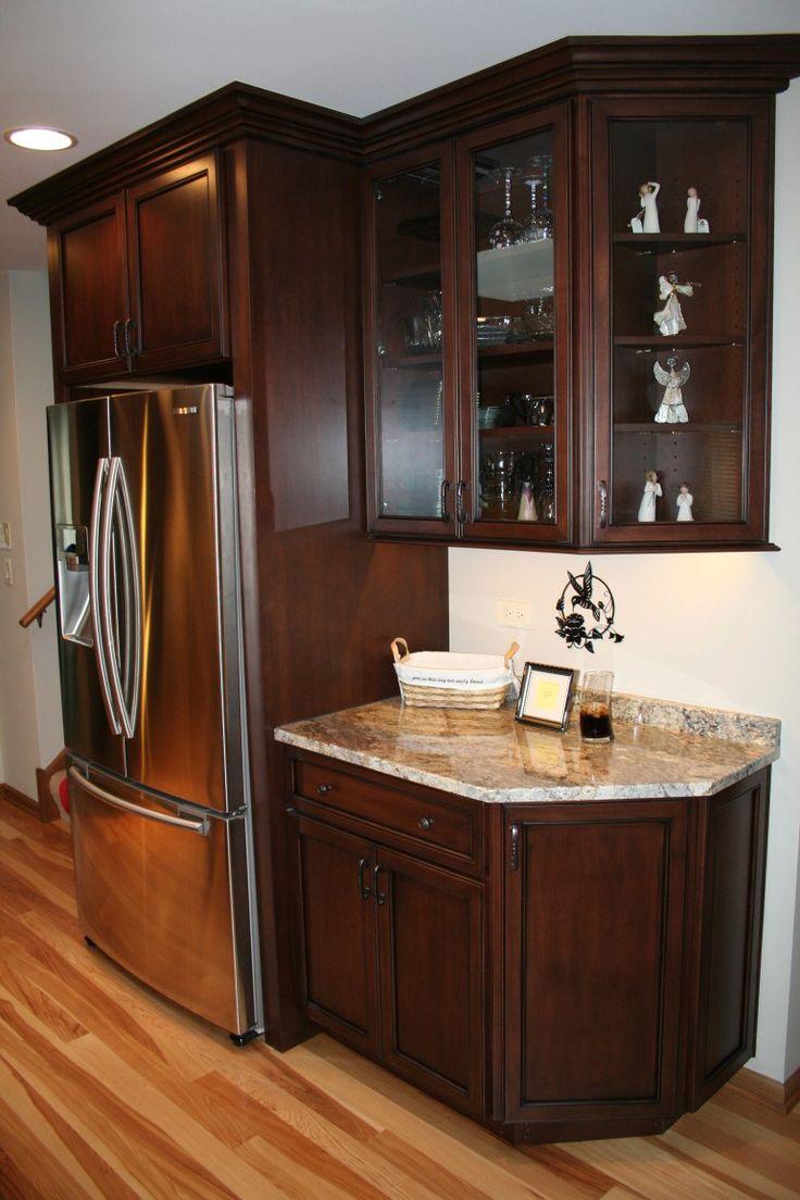 winning kitchen brick backsplash chicago traditional. Black Bedroom Furniture Sets. Home Design Ideas