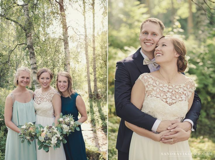 Wedding portraits forest