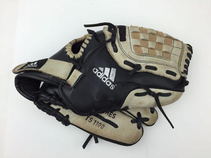 Adidas TS1100 11 inch Baseball Glove Mitt Easy Close Right Hand Throw RHT #adidas