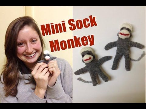 Sock Monkey Tutorial: DIY Recycled Glove Mini Monkey