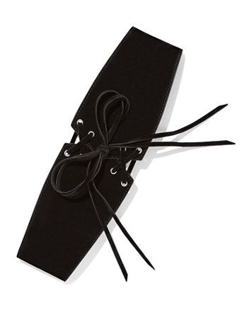 Shop Lace-Up Corset Belt . Find your perfect size online at the best price…