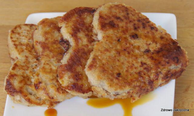 Zdrowo zakręcona: Dwuskładnikowe wegańskie placki owsiane z domową nutellą. Bez mąki, bez cukru, bez jajek