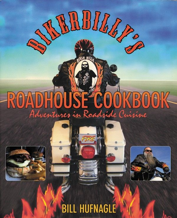 In Biker Billy's Roadhouse Cookbook, America's Biker Chef takes us on an unprecedented and absolutely delicious tour de force of roadhouse recipes, history, and lore. Journey along with Biker Billy as he explores more than a dozen famous historic and scenic highways and byways - including Route 66 and the Blue Ridge Parkway - and the great eateries and recipes that line them. Discover topnotch but little-known eateries cherished by local riders and drivers alike ...(click for more)
