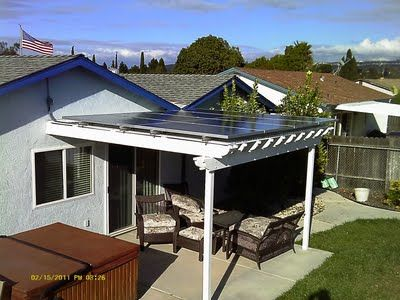 Solar Panel Pergola Backyard Ideas Solar Panels For