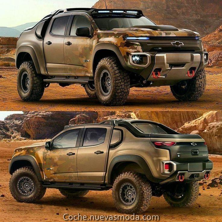 Magico Chevrolet Colorado Zh2 Concept 2019 Especificaciones