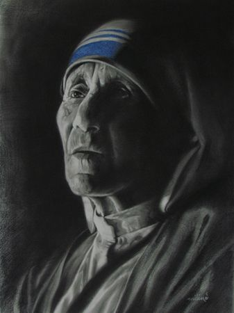 Rare Thoughts Art Gallery Mother Teresa Painting