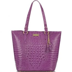 The #brahmin asher tote in new hot hue orchid. #summer2013