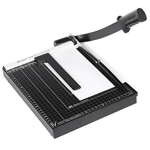 Homdox Hebelschneider Fotoschneider Papierschneider Papierschneidemaschine Schneideger�t Schrottmaschine (A4)