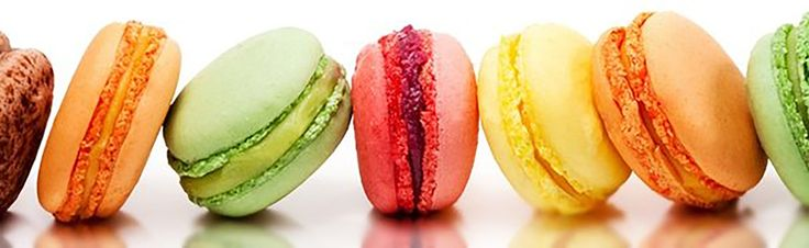 Macaron: Full Flavour Ambiance. A macaron is a sweet meringue-based confection made with eggs, icing sugar, granulated sugar, almond powder or ground almond, and food colouring. The macaron is commonly filled with ganache, buttercream or jam filling sandwiched between two biscuits.