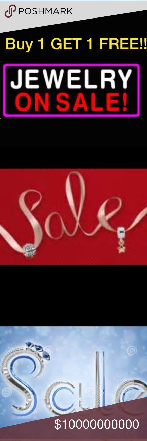 💍💍NEW YEARS JEWELRY SALE BUY 1 GET 1 FREE*💍💍 💍💍NEW YEARS JEWELRY SALE: BUY 1 GET 1 FREE*💍💍For the month of January. All Jewerly are Buy 1 Get 1 FREE* (free item must be of equal to lesser value.) ❌ May not be combined with any other sales.❌ Jewelry