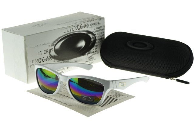 Cheap Pirce Oakley Frogskin Sunglasses white Frame multicolor Lens#Oakley Sunglasses