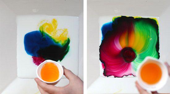 Увлекательные занятия эти нетрадиционные техники рисования или создания изображений различными методами. Один из которых - создание узоров на молоке мы сегодня и рассмотрим в нашем мастер классе.