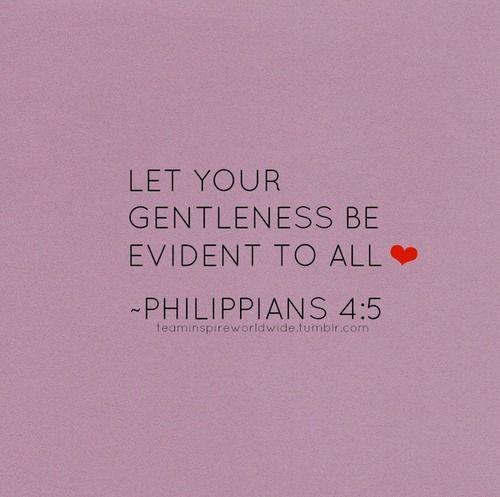 Philippians 4:5.