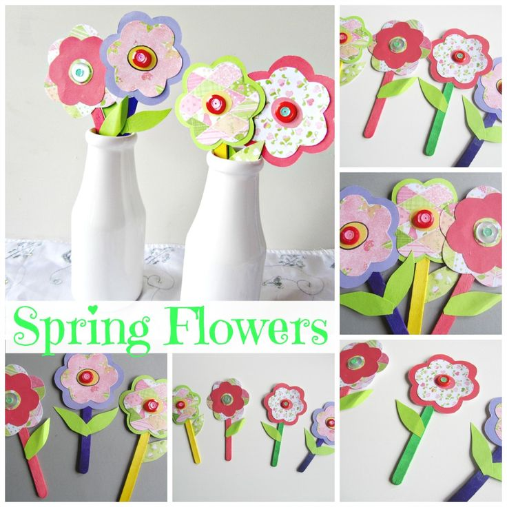 Spring Flower Craft Kids Craft
