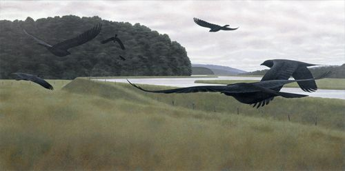 Seven Crows...Alex Colville