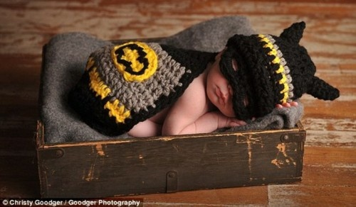 Bat baby!  EJ's future baby brother ;-)