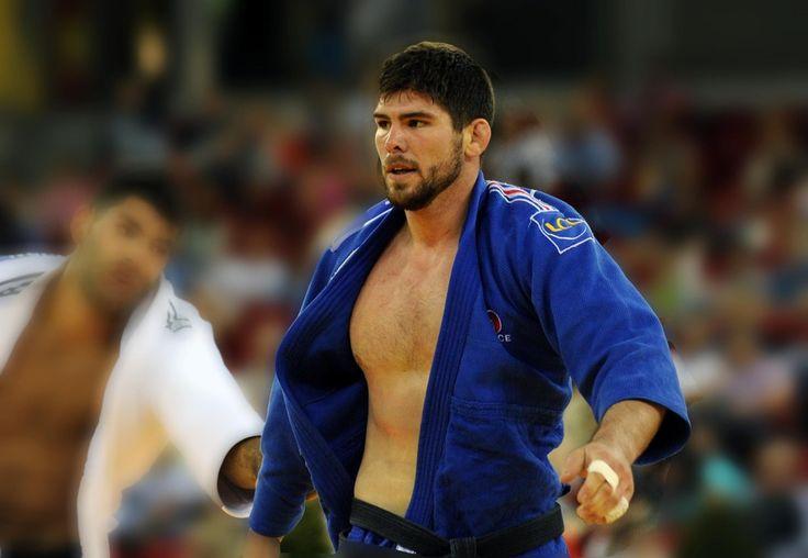 Cyrille Maret, 3e du Master de judo 2013 à Tyumen / Emmanuel Charlot - EDJ