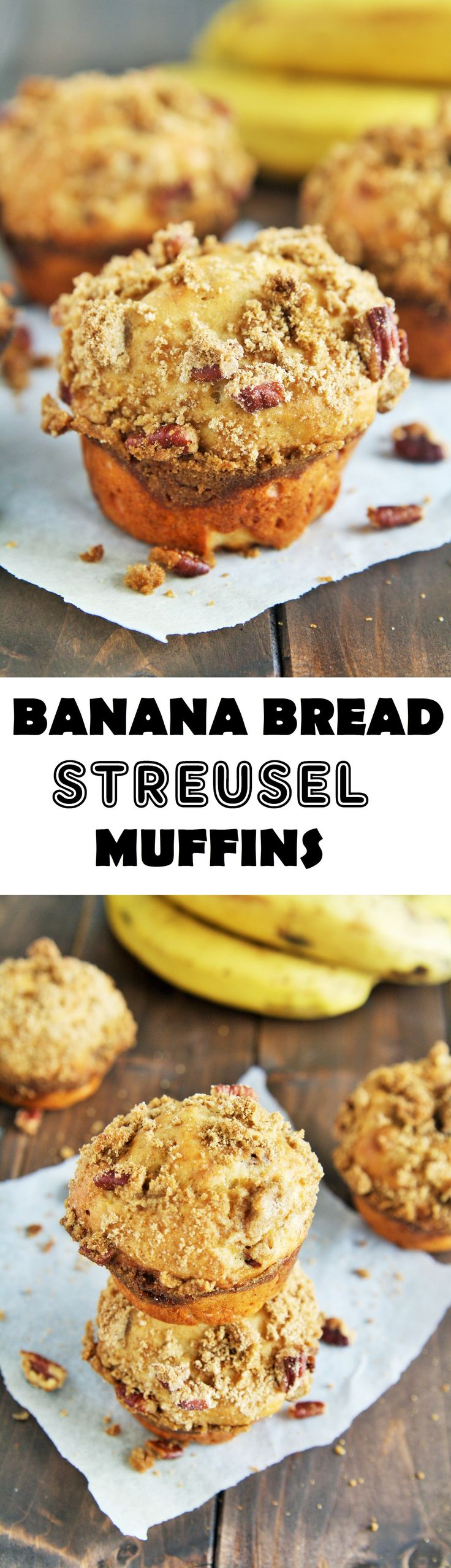Jun 17, 2020 – These muffins are a combination of homemade banana bread and coffee cake with moist, tender crumbs, and t…
