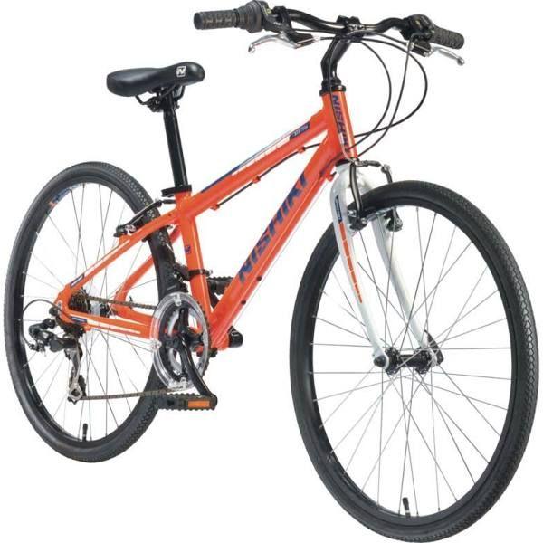 Nishiki Boys' Manitoba 24'' Hybrid Bike, Orange