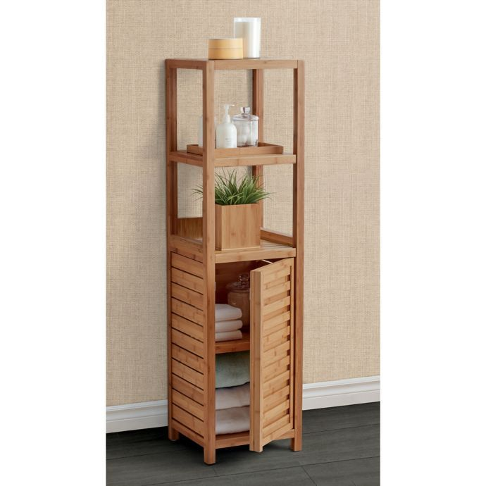 Haven No Tools Bamboo Tower Cabinet With Images Bamboo