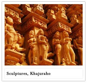 Khajuraho:- The famed erotic sculptures of Khajuraho are the stuff of legend. One of the brightest highlights of your Indian luxury holiday.