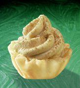 "Tiramisu in filo shells...love these ""mini"" desserts!!!"